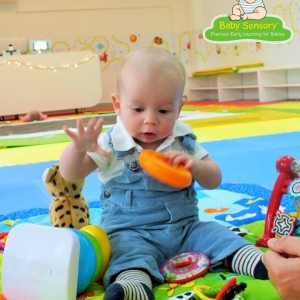 Baby Sensory Touch and Feel Activity Time