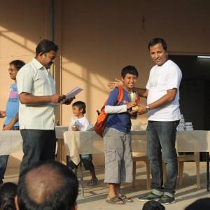 Bangalore Chess Academy Awarding