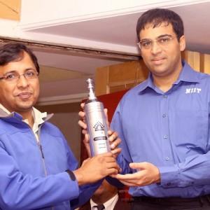 Bangalore Chess Academy with Vishwanath Anand