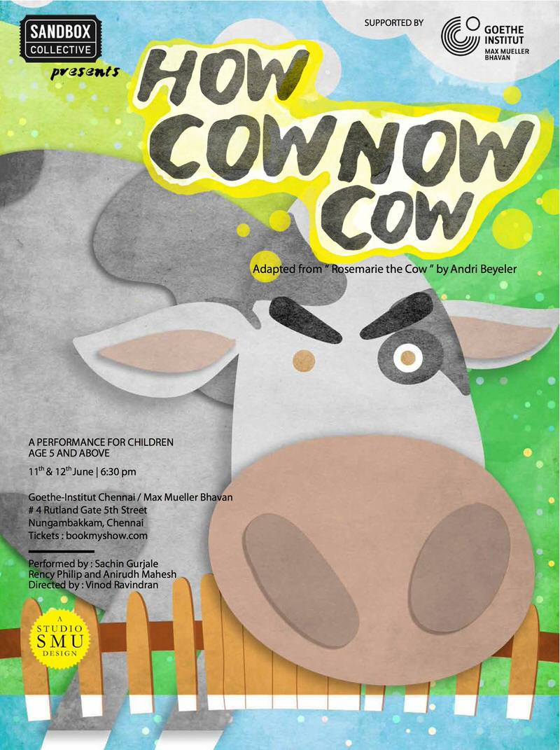 How Cow Now Cow – Children's Play Cover Image