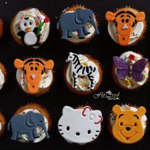 Floured-Animal-Theme-Cupcake