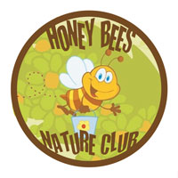 Honey Bees Nature Club Logo
