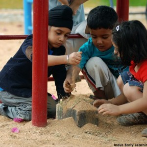 Indus Early Learning Centre-Whitefield-Sand Play