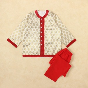 Little Pockets Store White Jacket