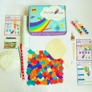 Purple Bee Summer Fun Activity Box