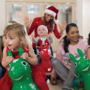 Toddler Sense Fun Christmas Activity