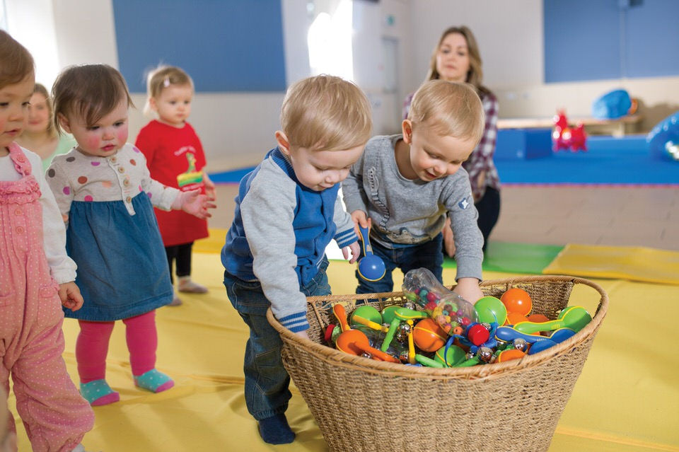 Toddler Sense Learning to Share