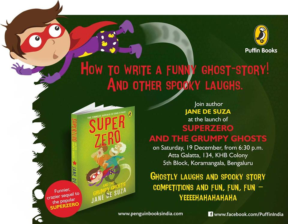 Launch of SuperZero And The Grumpy Ghosts Cover Image