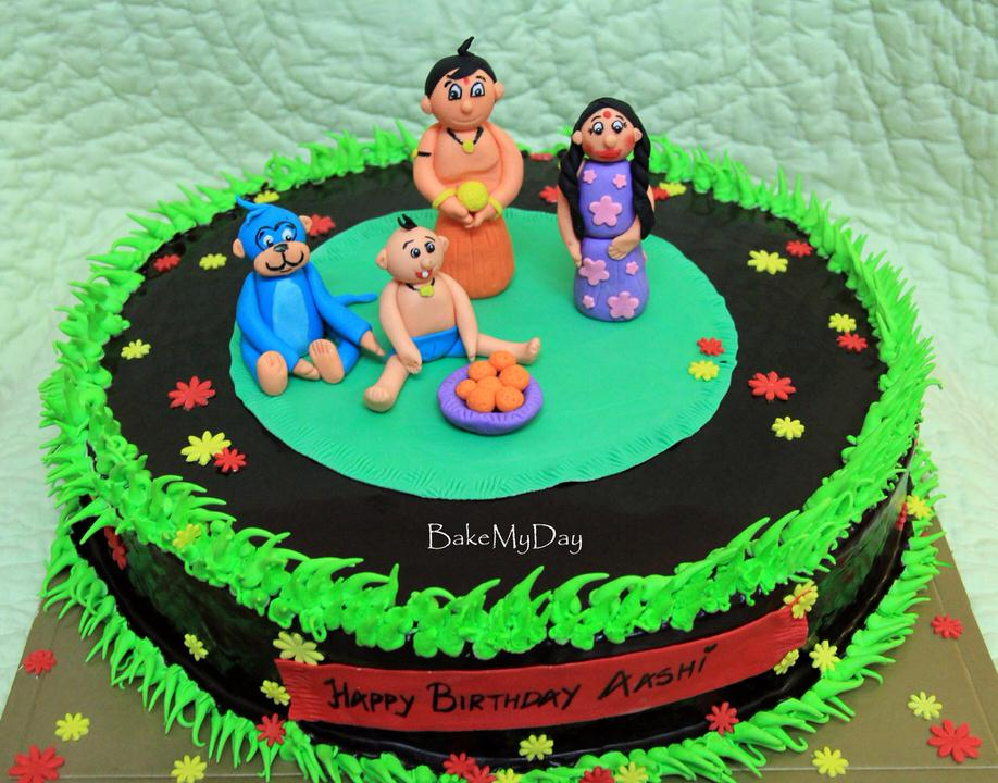 Chota Bheem Images For Birthday Cake : BakeMyDay, JP Nagar, Bangalore