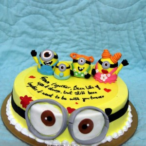 BakeMyDay-Minion-Themed-Birthday-Cake