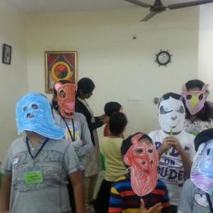 Cilre-Face-Mask-Making