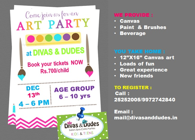 Kids Art Party Cover Image