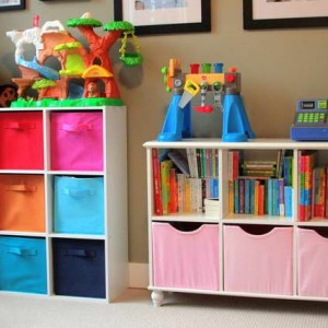 Photo credit:  Janet in 19 Outstanding Storage ideas for Kids Rooms Idea