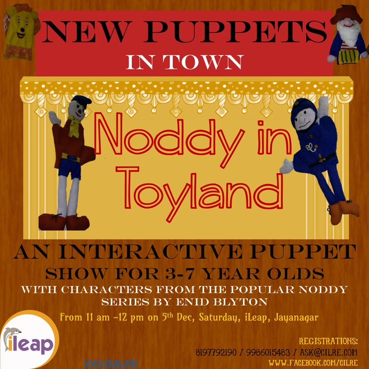 Noddy in Toyland Cover Image