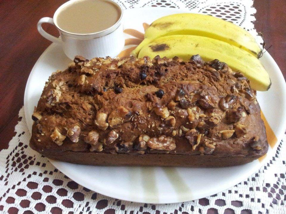 Smitha's Cake Hive Banana nut Cake