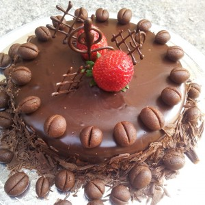 Smitha's Cake Hive Chocolate Coffee Cake