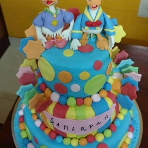 Smitha's Cake Hive Donald duck