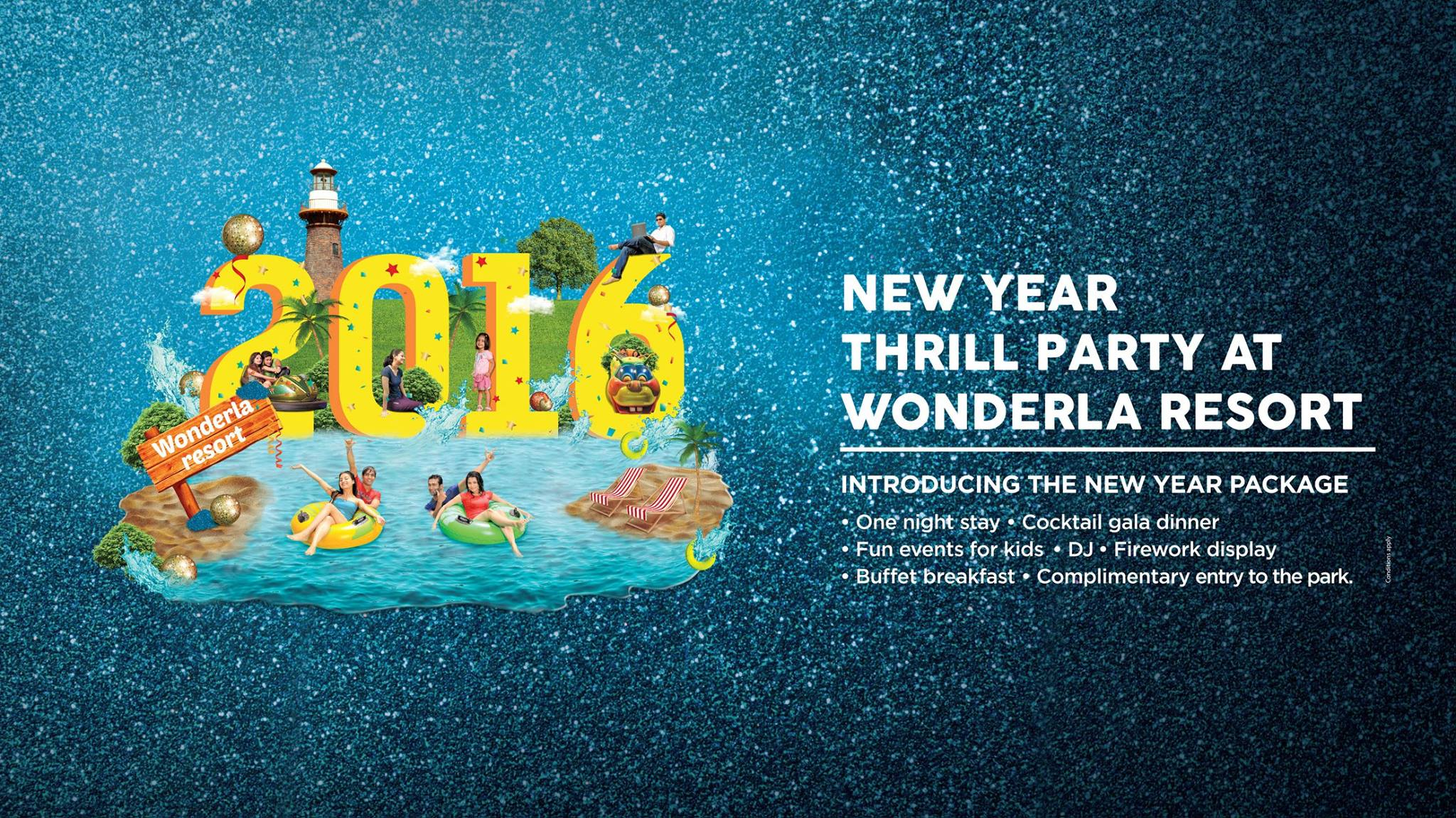New Year Thrill Party at Wonderla Resort Cover Image