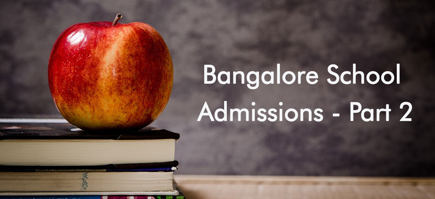 10 more Bangalore school admissions 2016-17 Cover Image