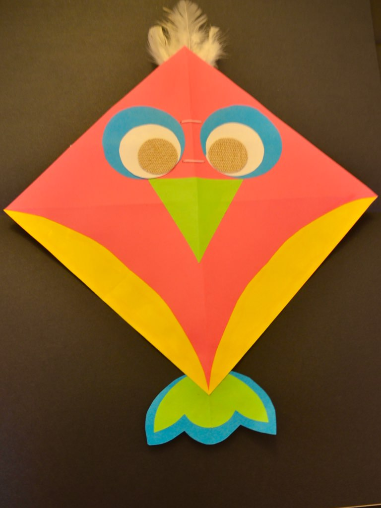 How to make a simple kite out of paper - How to make a kite ...
