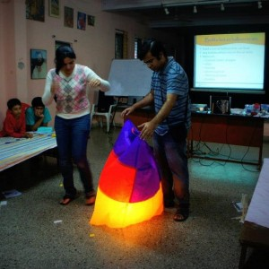 Merry Go Learn Hot Air Balloon Making