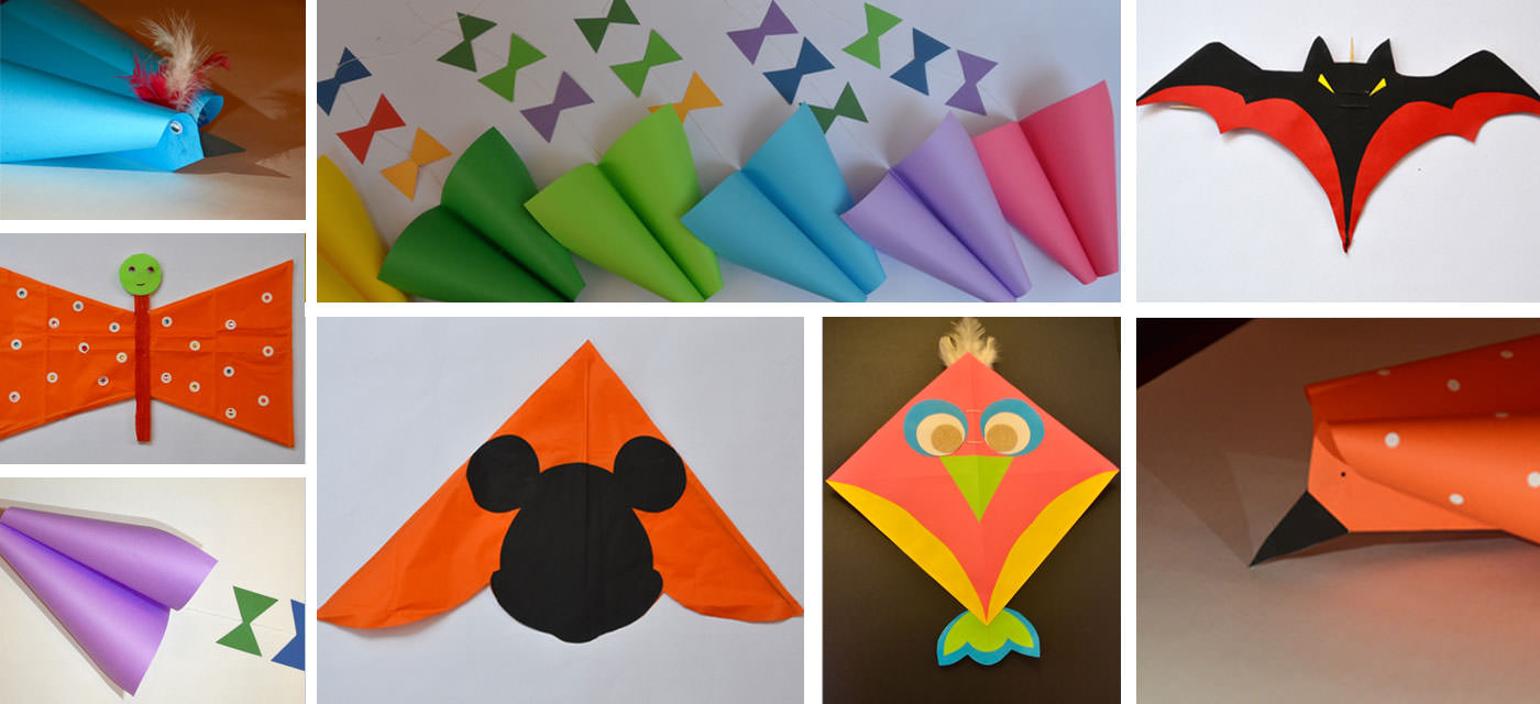 How To Make A Simple Kite Out Of Paper for Craft Ideas Kites