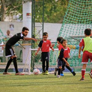 bhaichung_bhutia_football_kids_class