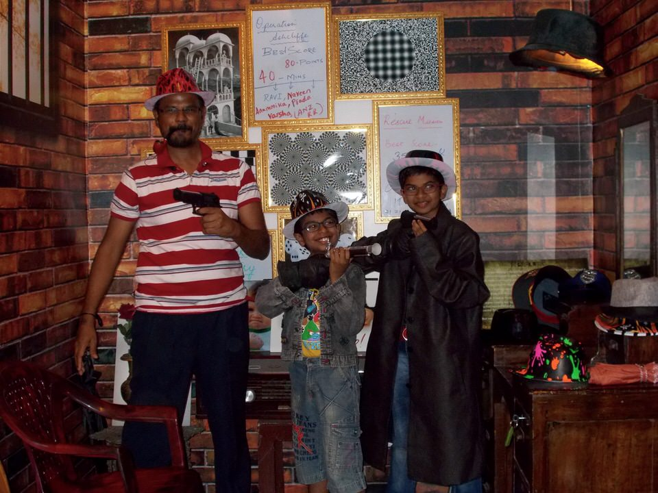 Breakout koramangala bangalore for Escape room party
