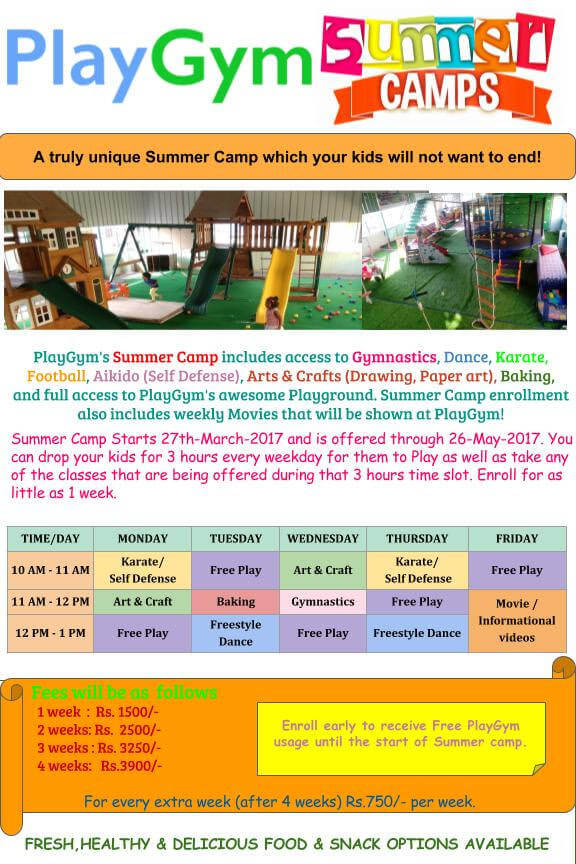 PlayGym Summer Camp Cover Image
