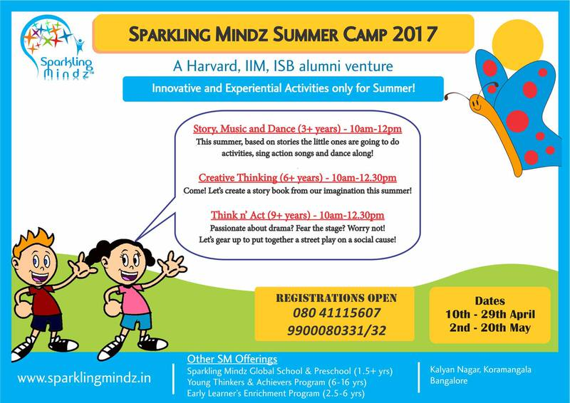 Sparkling Mindz Summer Camp 2017 Cover Image