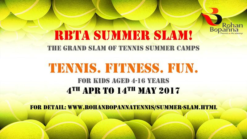 RBTA Summer Slam Tennis Coaching Camp Cover Image