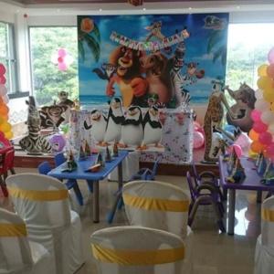 Madagascar Kids Birthday Party Venue