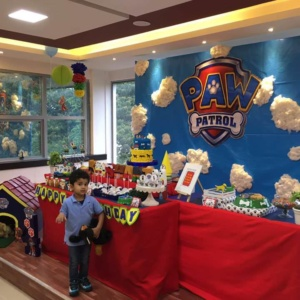 Birthday Party Decoration at Madagascar Kids