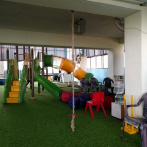 Tunnel Fun at PlayGym