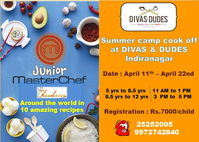 Junior Masterchef – Divas and Dudes Cover Image