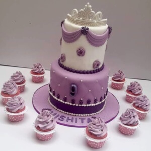 Princess Themed Cake by Itz Yumm