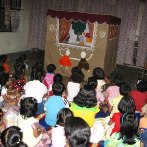 Rainbow Club Kids Library & Activity Centre - puppet show