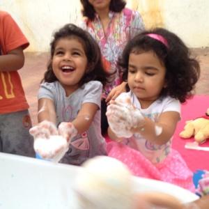 BrightRight Kids Making Bubbles