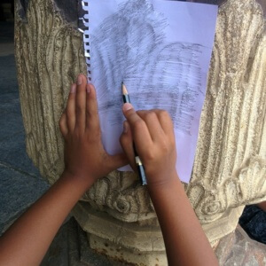 Tracing the monuments at the palace