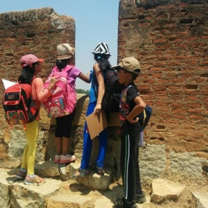 Kids visit to Historical Places, Bangalore