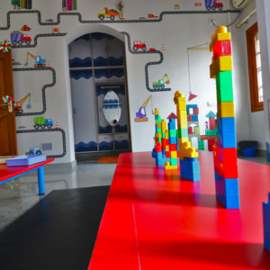 Activity Room at Trio Tots HSR Layout