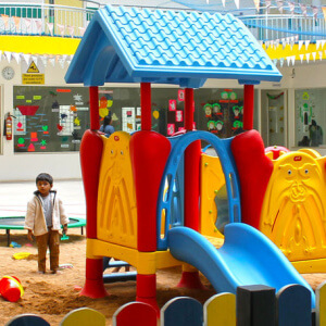 Play Area at Trio Tots HSR Layout