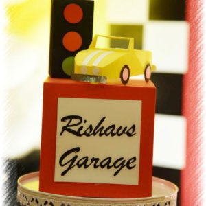 Car Theme Centrepiece by Fiestaa Events