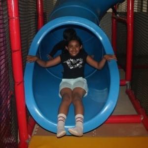Slide at Kidz Kampus