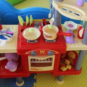 Kitchenette at Leap N Bounce