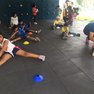 Kids Fitness Session at Play by Vitality