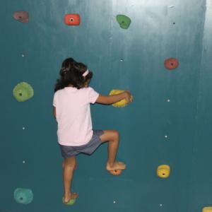Wall Climbing and Body Balancing