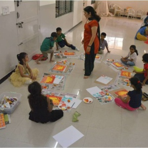 Creative Minds, Art Workshop