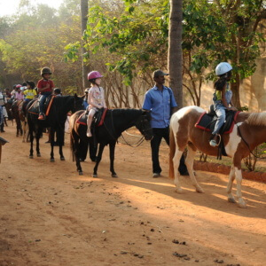 Pony Ride at Embassy International Riding School