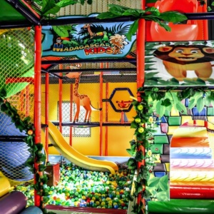 Soft Play Area at Madagascar Kids